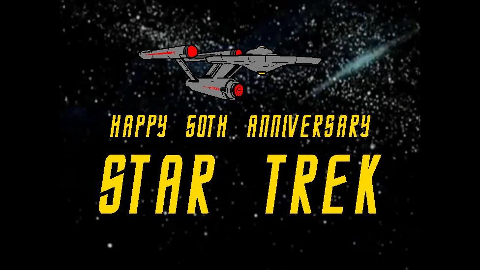 Star Trek 50th Anniversary by mrentertainment