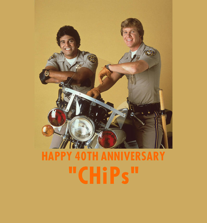 CHiPs 40th Anniversary by mrentertainment
