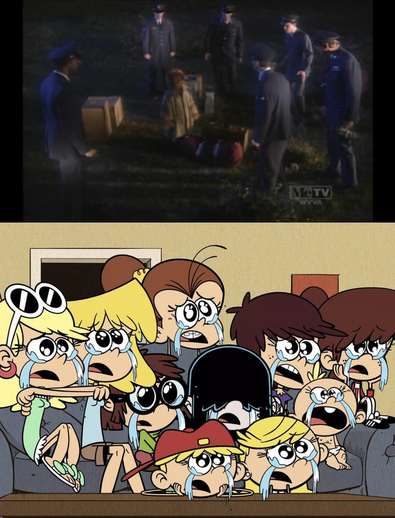 Loud Sisters Crying Over ALF getting captured by mrentertainment