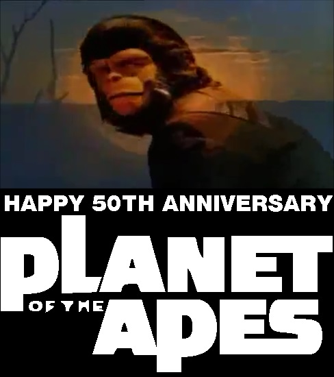 Planet of the Apes 50 by mrentertainment