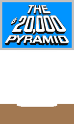 The $20,000 Pyramid Host Podium (Light Blue) 2 by mrentertainment