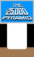 The $25,000 Pyramid Host Podium (Light Blue) 2