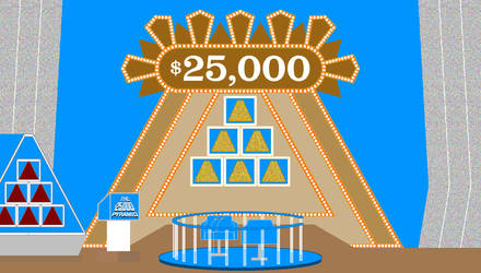 The $25,000 Pyramid E by mrentertainment