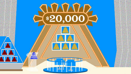 The $20,000 Pyramid F by mrentertainment