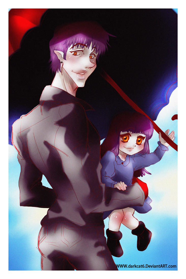 Vampires in summer XD by darkcat6