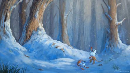 Snow Griffins