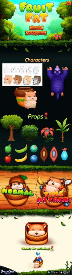 FruitFat Game Assets