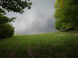 Running before storm