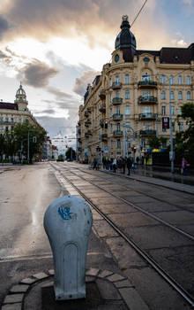 Evening in Brno