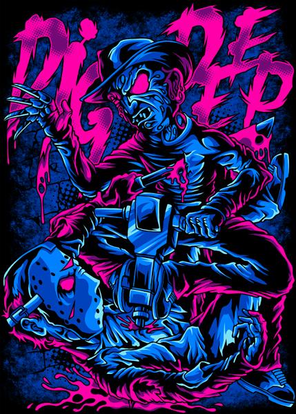 Freddy Vs Jason By JOjOnOrt3