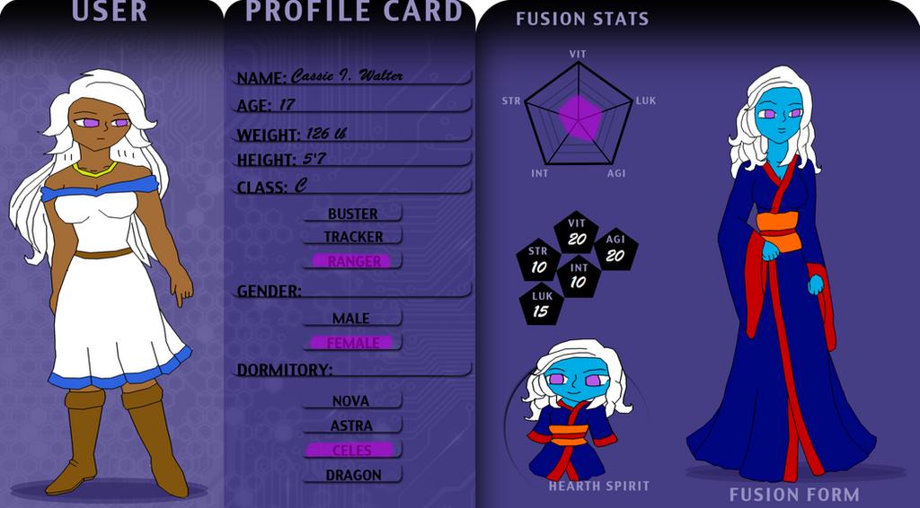 Soh: Cassie app by RebelleEcoRapunzel
