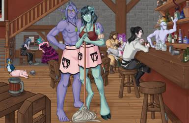 The Tavern by xella