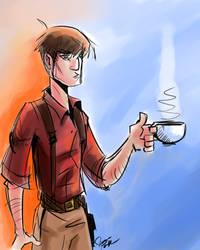 Captain Reynolds by crystachick