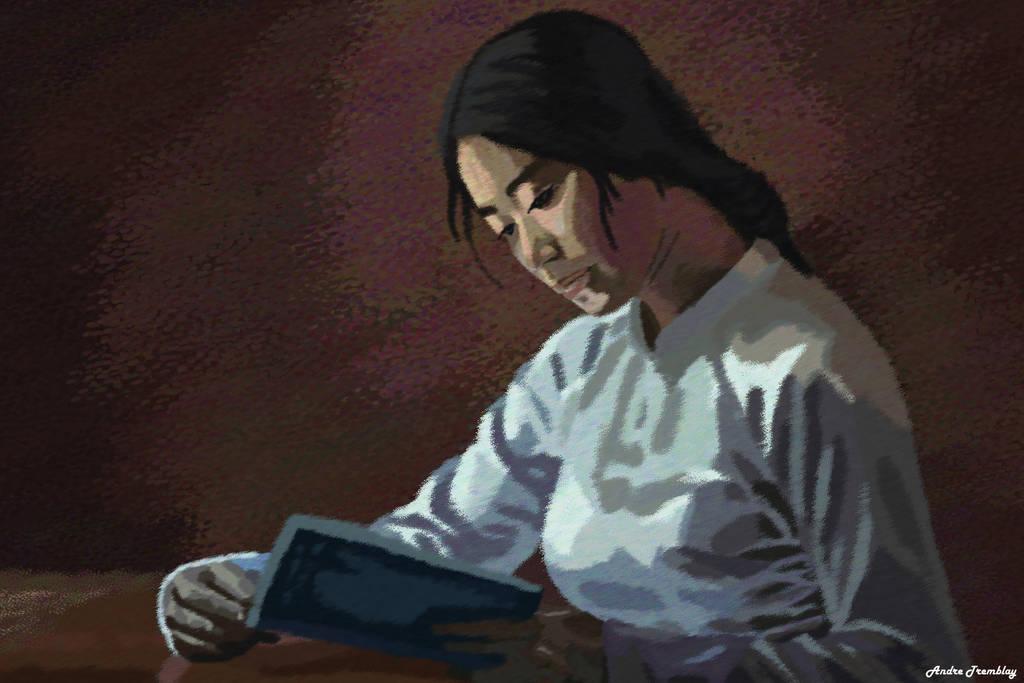 Reader by Komaro28