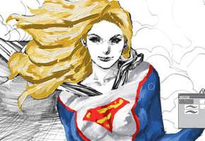 Supergirl002 by Komaro28