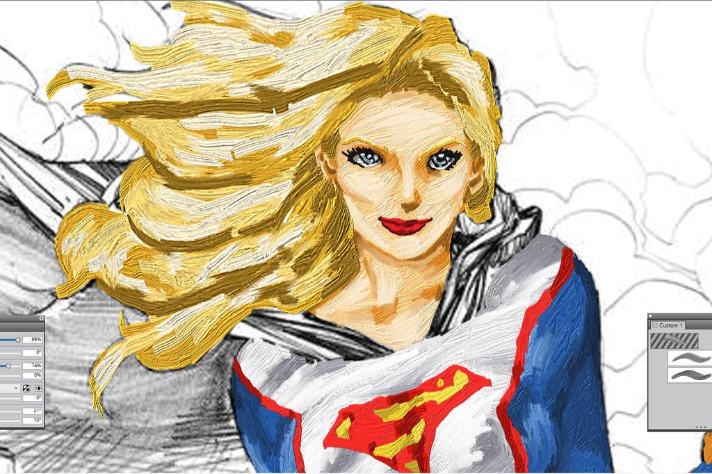 Supergirl004 by Komaro28