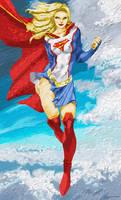Supergirl 1080 by Komaro28