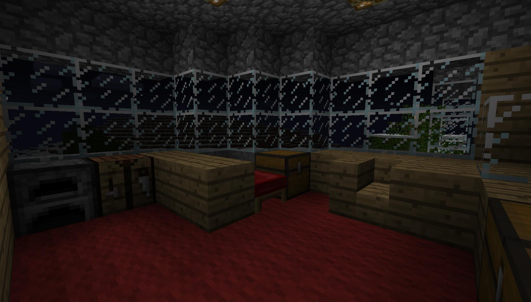 Minecraft house interior by sleekhusky on deviantart for Interior designs minecraft