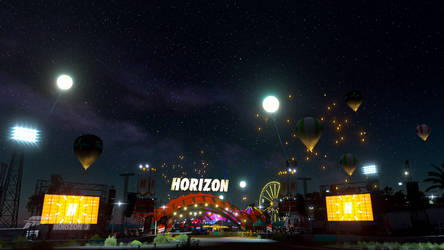 Forza Horizon 3: Festival Nightlife by SleekHusky