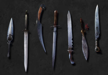 blades concepts by Fishpattern
