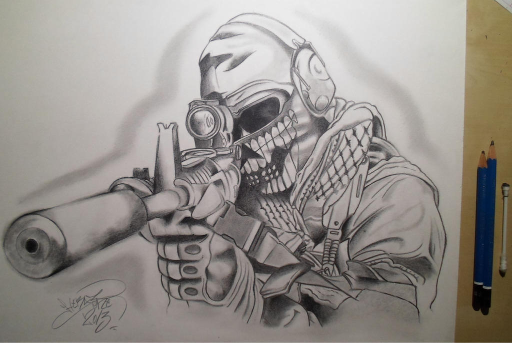 call of duty drawing by Drawings