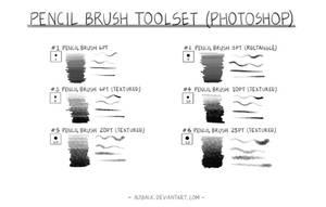 Pencil Brush Toolset Ver 1.0 : Sample Strokes