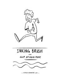 Inking Brush for CSP : Demo sketch