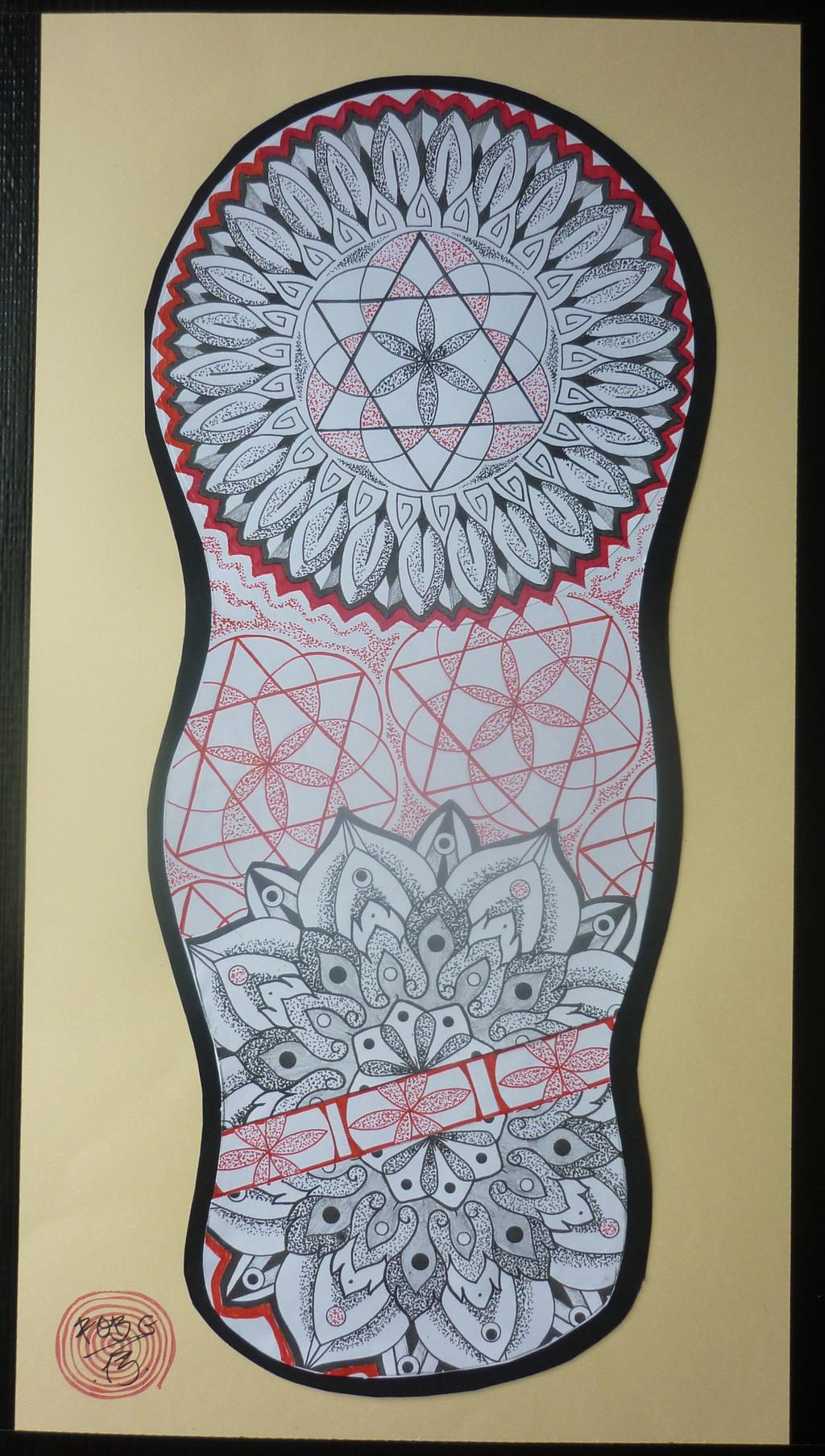 mandala sleeve 3 by robgtattoo on deviantart. Black Bedroom Furniture Sets. Home Design Ideas