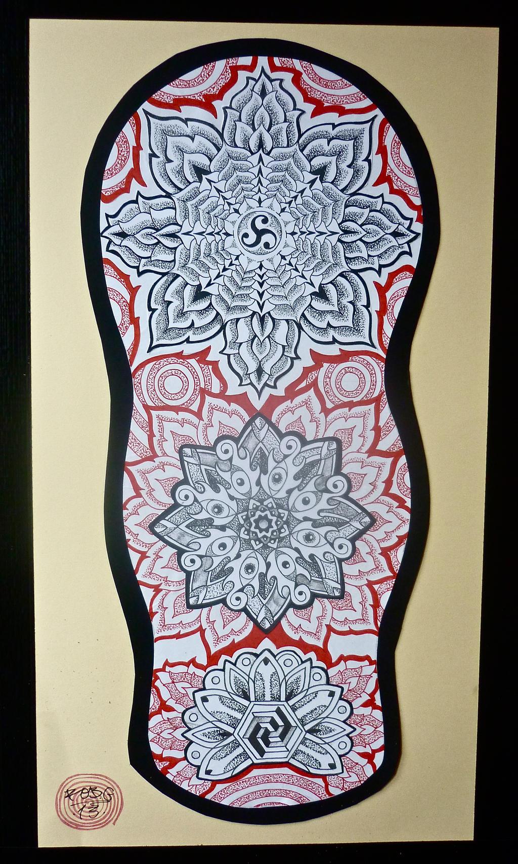 mandala sleeve 4 by robgtattoo on deviantart. Black Bedroom Furniture Sets. Home Design Ideas