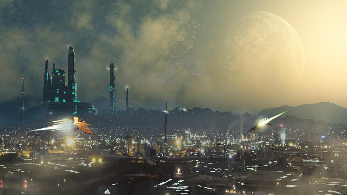 Spacecity by spangenberger