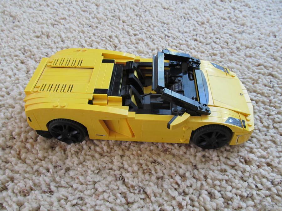 Lego Lamborghini Gallardo Lp 560 4 Spyder 4 By Michaelb450