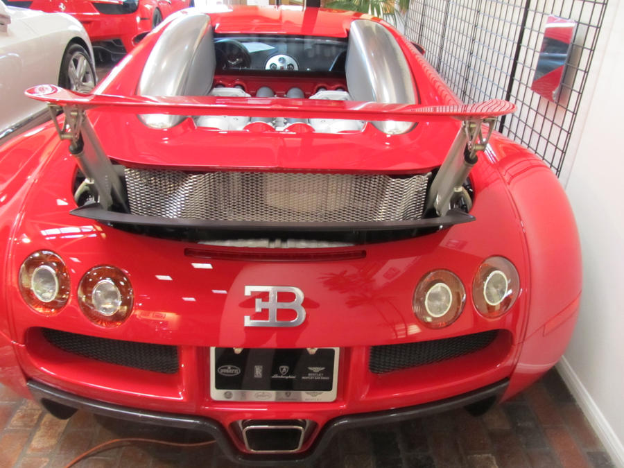 Red Bugatti Veyron 16.4 at Symbolic Motors 5 by MichaelB450 on ...
