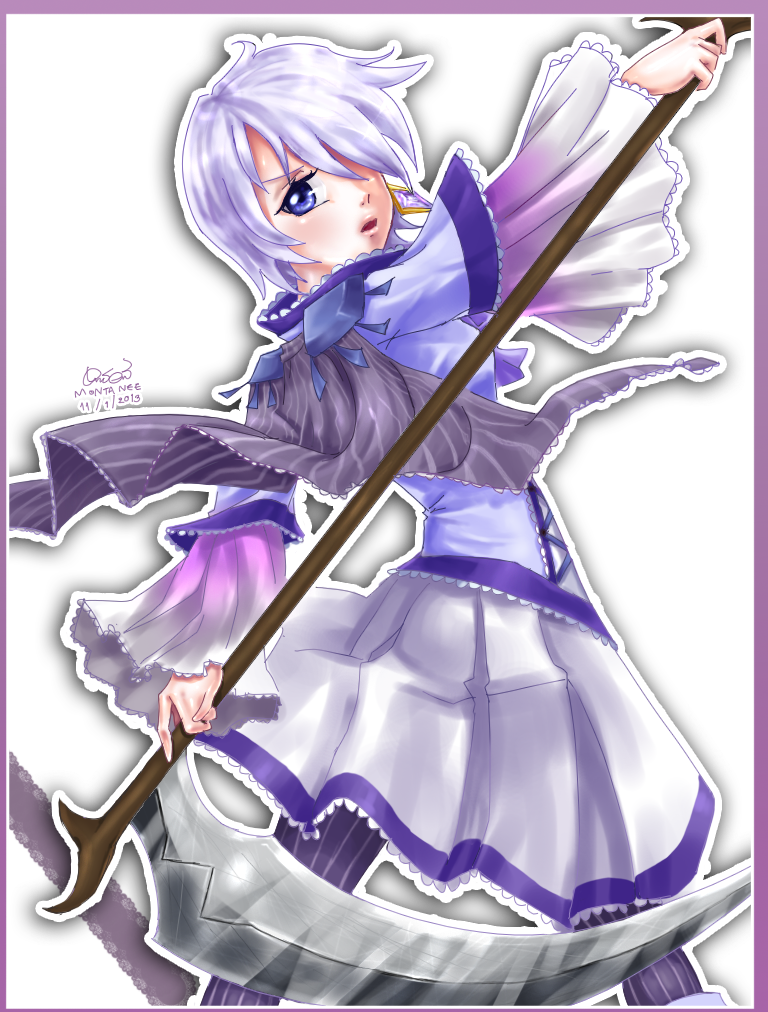 [Request] Scythe Girl by doblemjwn