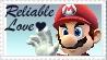SSBB Mario Stamp by crafty-manx