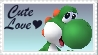 SSBB Yoshi Stamp by crafty-manx