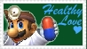 SSBM Dr. Mario Stamp by crafty-manx