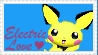 SSBM Pichu Stamp by crafty-manx