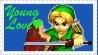 SSBM Young Link Stamp by crafty-manx