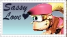 Dixie Kong: Sassy Love by crafty-manx