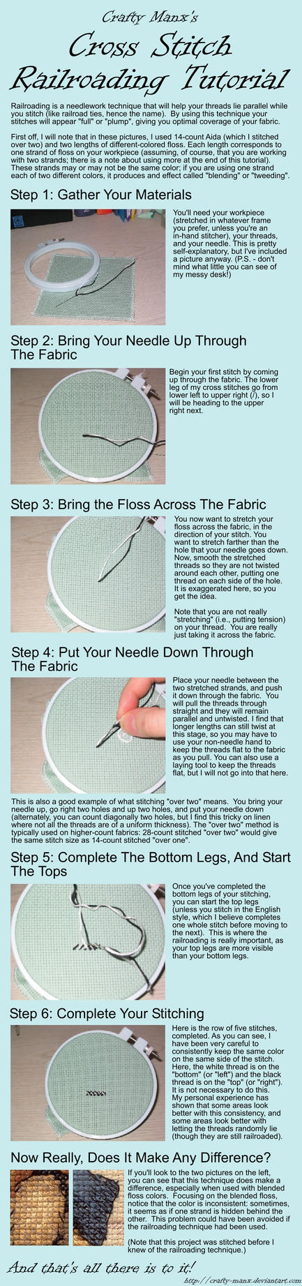 CrossStitchRailroadingTutorial by crafty-manx