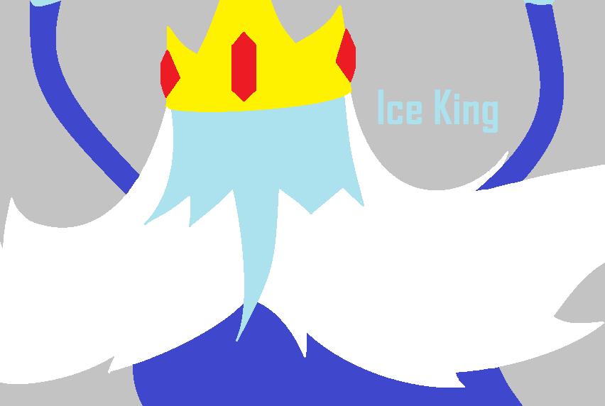 Ice King Adventure Time Minimalist By Lolzersgirl