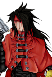 Vincent Valentine - Final Fantasy 7 by Draakedan
