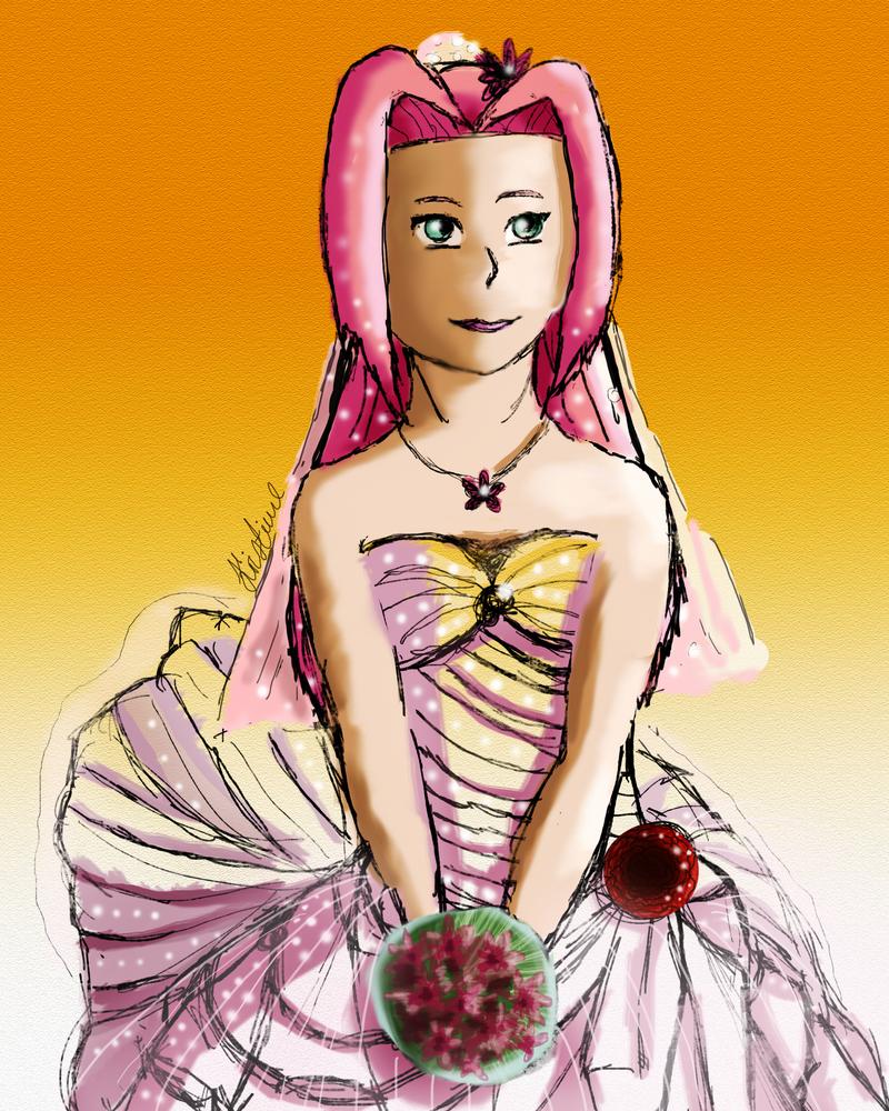 Sakura's Wedding Dress by kristime