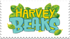 Harvey Beaks stamp by Fluffydragonpuppy