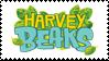 Harvey Beaks stamp by Fluffydragonpuppy