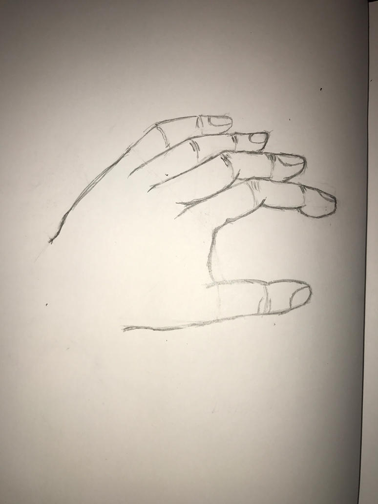 Shape Practice - Hand by FishtheFish