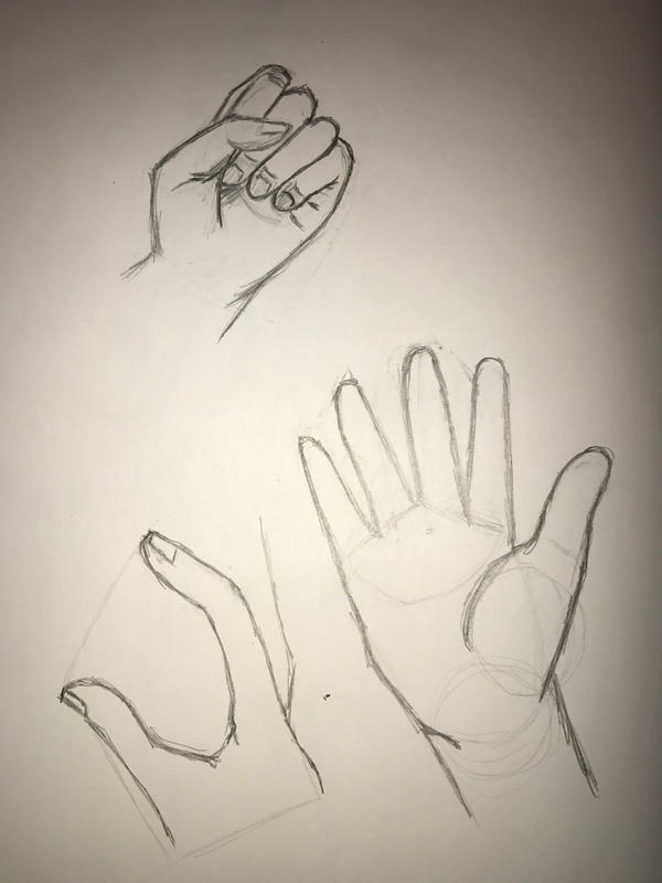 Hands practice by FishtheFish