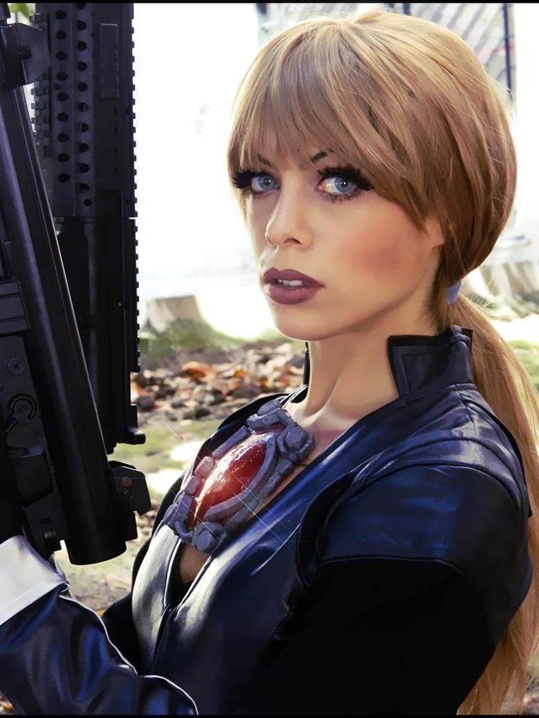 Jill Valentine resident evil 5 cosplay by LilituhCosplay