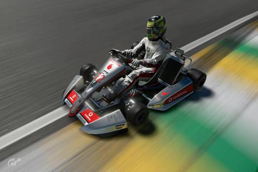 Gran Turismo Photo: Lewis Hamilton Mclaren Go Kart