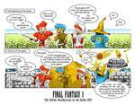 Final Fantasy 1 Comic